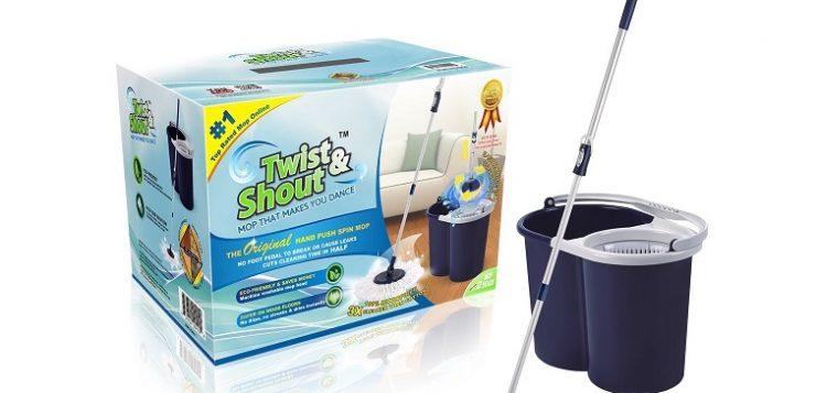 twist and shout mop target