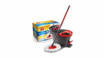 O-Cedar Easy Wring Spin Mop Review