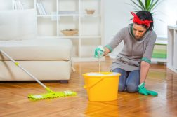 homemade floor cleaner for mopping