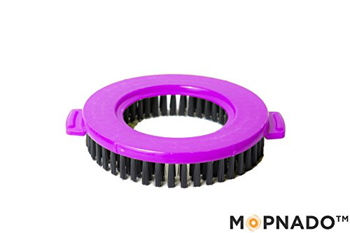Mopnado Compact Foldable Spin Mop Lime Purple Review