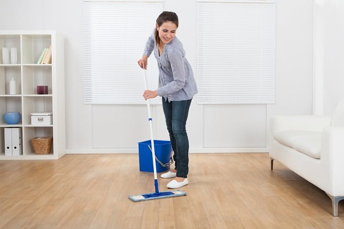 how to clean bamboo floors without streaks